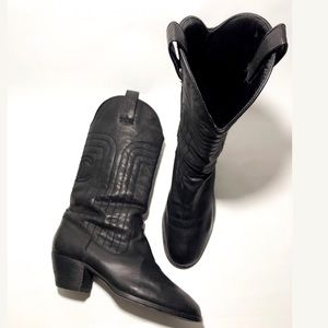 Chanel Rare Western Boots